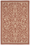 Trans-Ocean Liora Mann Terrace 1794/74 Scroll Vine Terracotta Area Rug