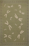 Trans-Ocean Liora Manne Terrace 1746/96 Dragonfly Moss Closeout Area Rug