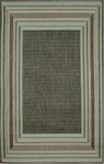 Trans-Ocean Liora Mann Terrace 1736/73 Etched Border Aqua Closeout Area Rug