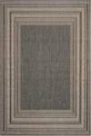 Trans-Ocean Liora Mann Terrace 1736/68 Etched Border Silver Closeout Area Rug