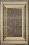 Trans-Ocean Liora Mann Terrace 1736/59 Etched Border Yellow Closeout Area Rug