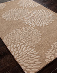 Jaipur Traverse TV11 Kyoto Medium Brown/Medium Brown Closeout Area Rug - Spring 2014