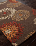Jaipur Traverse TV16 Kyoto Dark Brown/Dark Brown Closeout Area Rug - Spring 2014