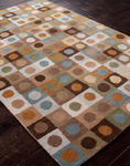 Jaipur Traverse TV21 Lima Sky Blue/Antique White Closeout Area Rug - Fall 2013