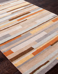 Jaipur Traverse TV22 Mombasa Beige/Pumpkin Closeout Area Rug - Fall 2013