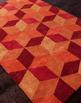 Jaipur Traverse TV28 Malmo Pumpkin/Pumpkin Closeout Area Rug - Fall 2013
