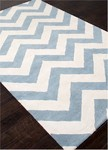Jaipur Traverse TV31 Paris Faded Demin & Cloud Dancer Area Rug