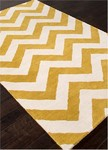Jaipur Traverse TV32 Paris Cloud Dancer & Oil Yellow Area Rug