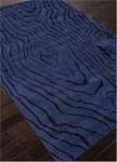 Jaipur Traverse TV35 Wood Grain Deep Navy/Ebony Closeout Area Rug