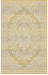 Feizy Thatcher 3672F Straw Closeout Area Rug
