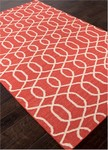 Jaipur Urban Bungalow UB28 Sabrine Mars Red & Turtledove Area Rug