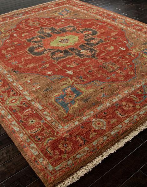 Jaipur uptown artemis ut02 york tandori spice thrush for Area rugs new york