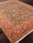 Jaipur Uptown Artemis UT04 5Th Avenue Cocoa Brown/Rust Closeout Area Rug - Spring 2014