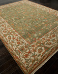 Jaipur Uptown Artemis UT05 5Th Avenue Forest Green/Cloud White Closeout Area Rug
