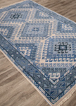 Jaipur Village VBA03 Hobbs Dusty Blue & Blue Heaven Area Rug