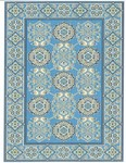 Marcella Vera Bradley Indoor/Outdoor VBO019A Totally Turq Closeout Area Rug