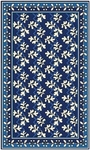 Marcella Vera Bradley Indoor/Outdoor VBO020A Blue Lagoon Closeout Area Rug