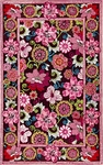 Marcella Vera Bradley Signature VBY041B Mod Floral Pink Closeout Area Rug