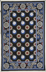 Marcella Vera Bradley Signature VBY050A Night Owl Closeout Area Rug