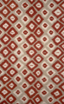Trans-Ocean Visions II 3095/24 Ikat Diamonds Red Area Rug