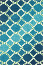Loloi Venice Beach VB-18 Blue / Green Area Rug