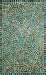 Trans-Ocean Visions V 3257/03 Arch Tile Lapis Area Rug