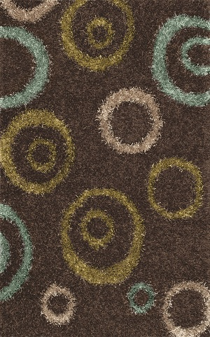 Dalyn Visions Vn19 Coffee Closeout Area Rug