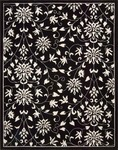 Nourison Versailles Palace VP49 BKW Black/White Closeout Area Rug - Spring 2016