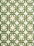 Nourison Waverly Artisanal Delight WAD09 LEAF Leaf Area Rug