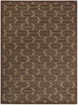 Calvin Klein Home Woven Textures WT02 BRN Bittersweet Plaid Closeout Area Rug