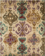 Designer Series 17037 Majesty Beige/Multi Rug
