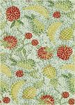 Loloi Zeina ZI-15 Ivory Fruits Closeout Area Rug