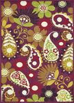 Loloi Zeina ZI-17 Grape/Multi Closeout Area Rug