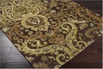 Designer Series DS040028 Brown Mona Rug