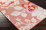 Surya Abigail ABI-9003 Coral/Ivory/Poppy Closeout Area Rug - Fall 2015