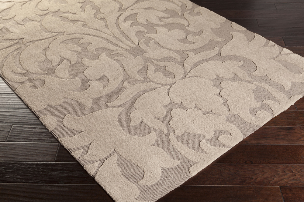 Surya Abigail Abi 9004 Taupe Light Gray Area Rug