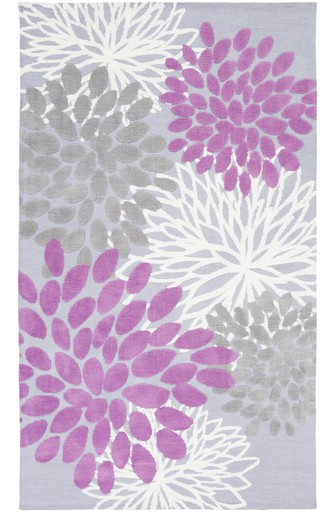 Surya Abigail Abi 9055 Bright Purple Lavender Medium Gray