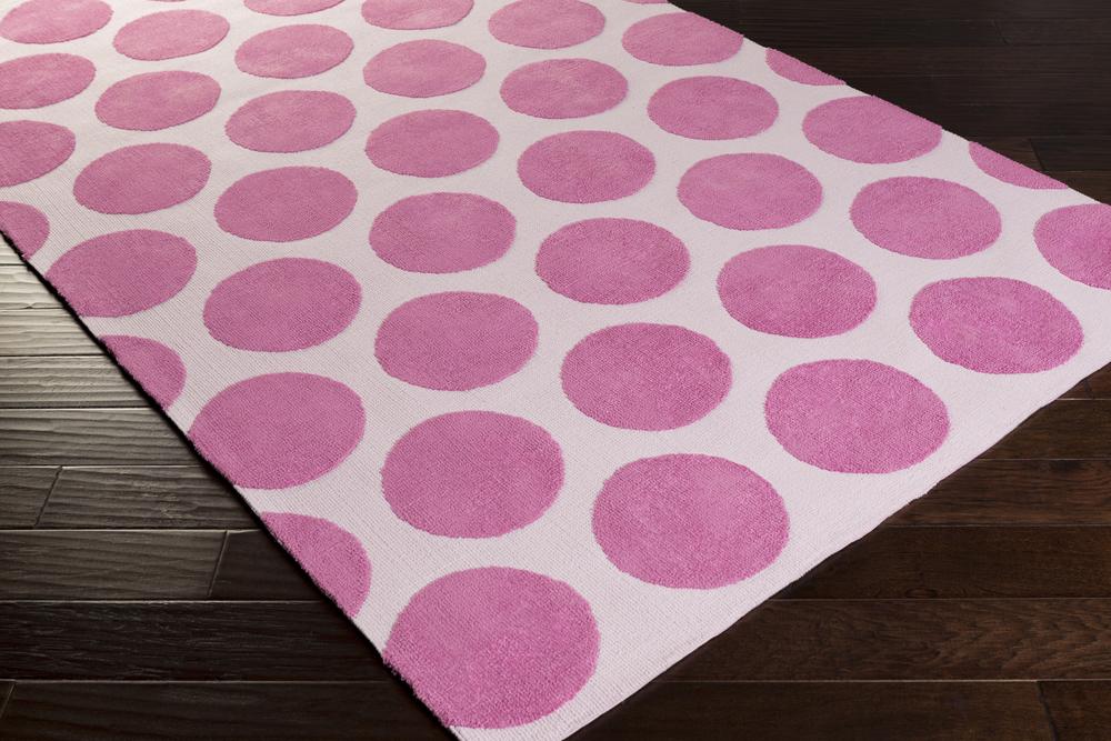 Surya Abigail Abi 9061 Magenta Pastel Pink Closeout Area