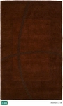 HRI Abstract LJ-08 Brown Closeout Area Rug