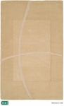 HRI Abstract LJ-08 Ivory Closeout Area Rug