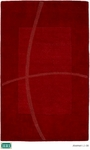 HRI Abstract LJ-08 Red Closeout Area Rug