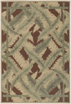 Surya Alfresco ALF-9540 Brown Closeout Area Rug - Fall 2009