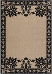 Surya Alfresco ALF-9577 Coal Black/Camel Closeout Area Rug - Fall 2012