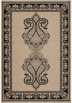 Surya Alfresco ALF-9579 Camel/Coal Black Closeout Area Rug - Fall 2012