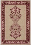 Surya Alfresco ALF-9580 Camel/Maroon Closeout Area Rug - Fall 2012