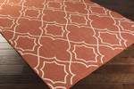 Surya Alfresco ALF-9591 Rust/Khaki Area Rug