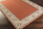 Surya Alfresco ALF-9598 Cherry/Taupe/Black Closeout Area Rug - Fall 2015