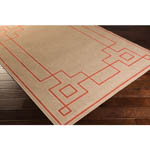 Surya Alfresco ALF-9633 Rust/Camel/Cream Area Rug