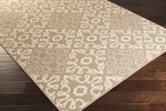 Surya Alfresco ALF-9635 Camel/Cream Area Rug