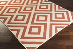 Surya Alfresco ALF-9642 Cherry/Beige Closeout Area Rug - Fall 2015